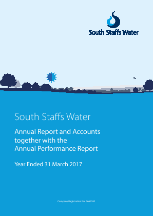 Cambridge Water annual report 2017