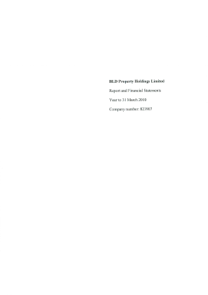 BLD Property Holdings annual report 2010