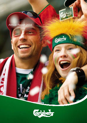 Carlsberg annual report 2004