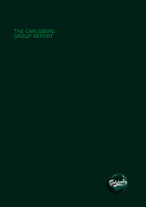 Carlsberg annual report 2012