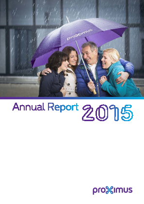 Proximus annual report 2015