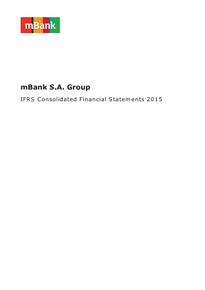 Mbank annual report 2015