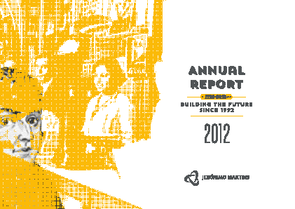 Jeronimo Martins annual report 2012