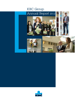 KBC Group annual report 2012