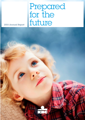 KBC Group annual report 2015