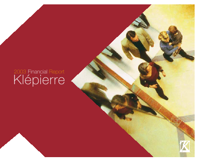 Klepierre annual report 2003