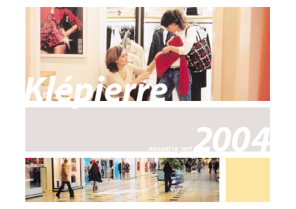 Klepierre annual report 2004