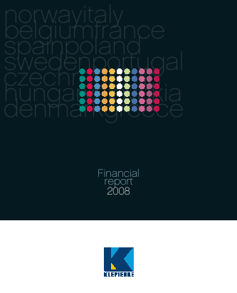 Klepierre annual report 2008