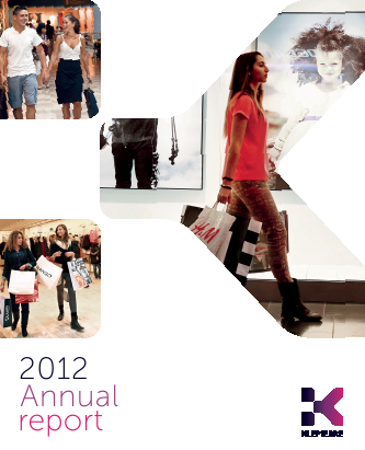 Klepierre annual report 2012