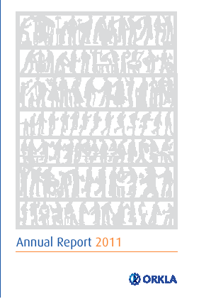 Orkla annual report 2011