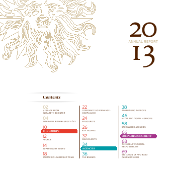 Publicis Groupe annual report 2013