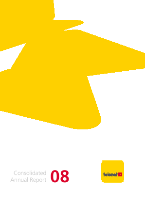 Telenet Group annual report 2008