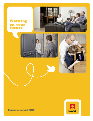 Telenet Group annual report 2012