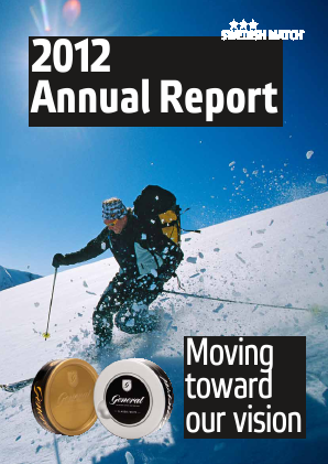Swedish Match annual report 2012