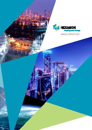Hexagon annual report 2015