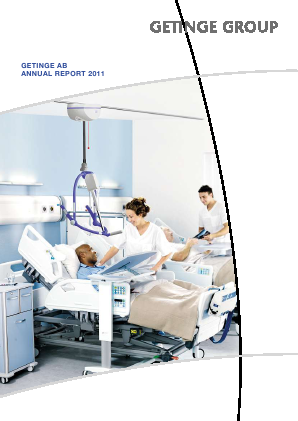 Getinge annual report 2011