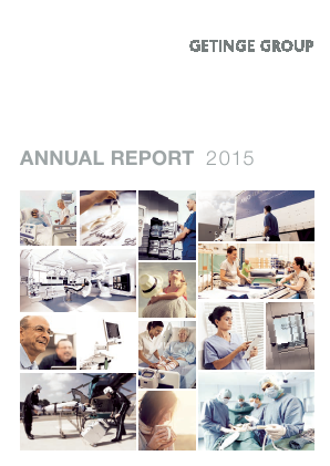 Getinge annual report 2015