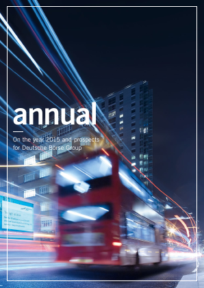 Deutsche Boerse annual report 2015