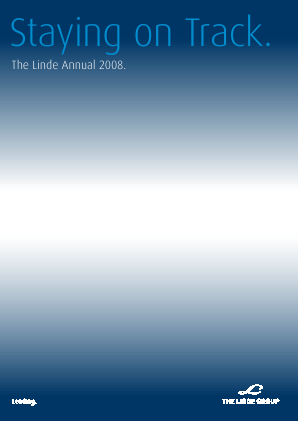 Linde annual report 2008