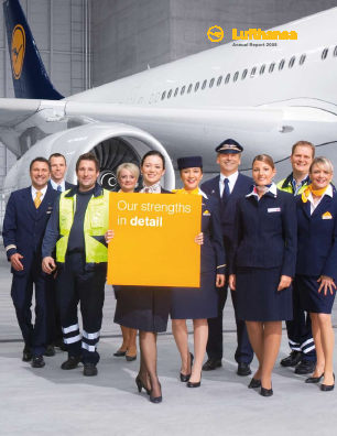 Deutsche Lufthansa annual report 2008