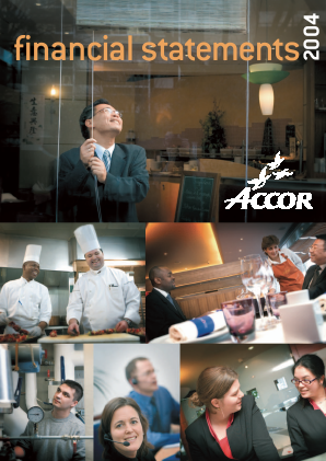 Accor annual report 2004