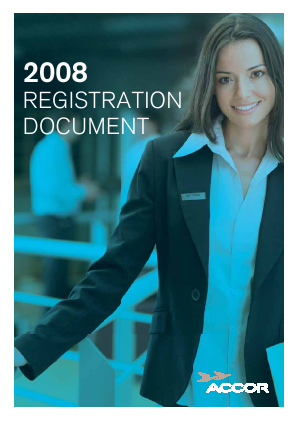 Accor annual report 2008