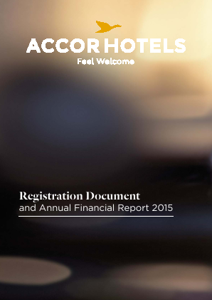 Accor annual report 2015