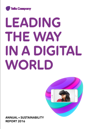 TeliaSonera annual report 2016