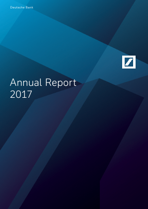 Deutsche Bank annual report 2017