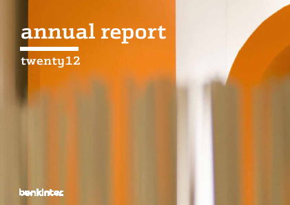 Bankinter annual report 2012