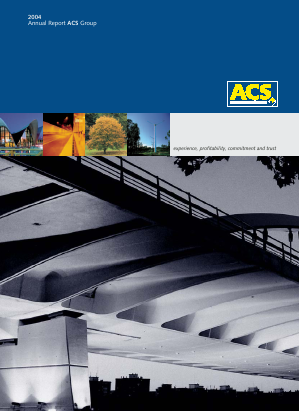 ACS annual report 2004