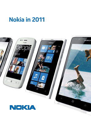 Nokia annual report 2011