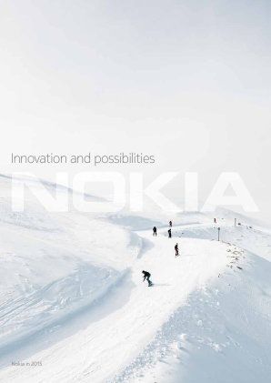 Nokia annual report 2015