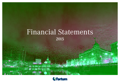 Fortum annual report 2015