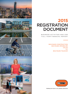 Bouygues annual report 2015