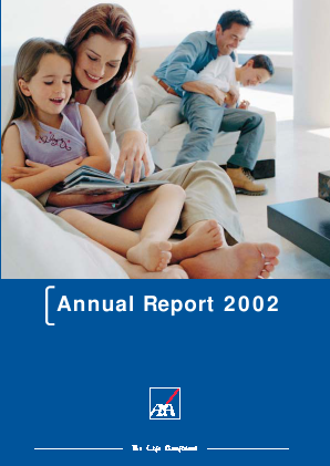 AXA annual report 2002