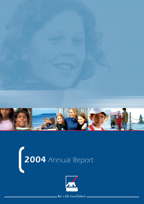 AXA annual report 2004