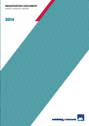 AXA annual report 2014