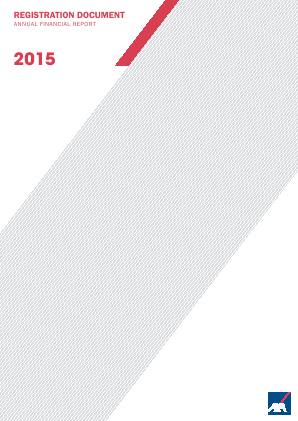AXA annual report 2015