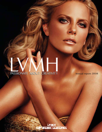 LVMH Moet Hennessy Louis Vuitton annual report 2008