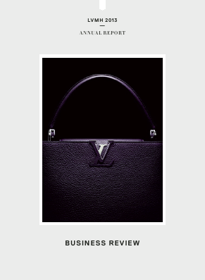 LVMH Moet Hennessy Louis Vuitton annual report 2013
