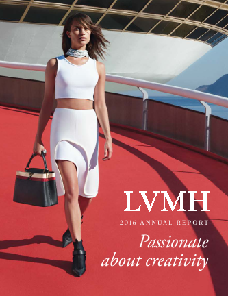 LVMH Moet Hennessy Louis Vuitton annual report 2016