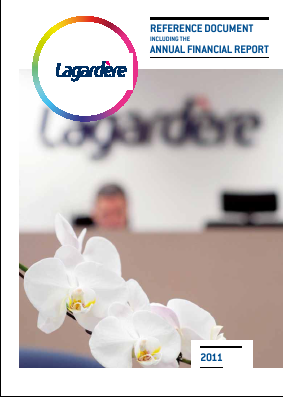 Lagardere Groupe annual report 2011