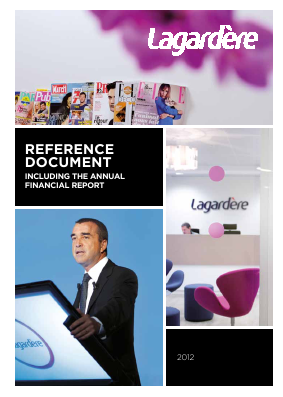Lagardere Groupe annual report 2012