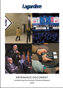 Lagardere Groupe annual report 2015