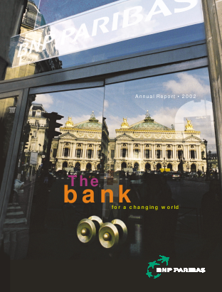 BNP Paribas annual report 2002