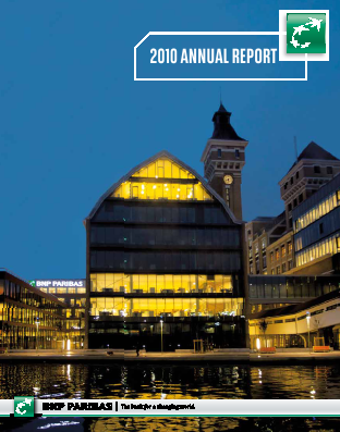BNP Paribas annual report 2010