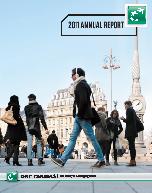 BNP Paribas annual report 2011