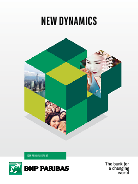 BNP Paribas annual report 2014