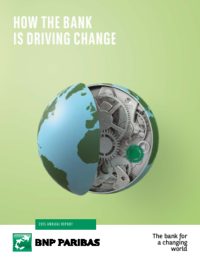 BNP Paribas annual report 2015